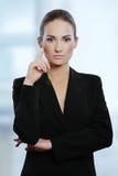 Молодая привлекательная женщина дела Стоковая Фотография