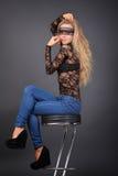Молодая сексуальная женщина Стоковая Фотография RF