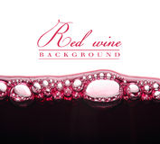 Молодое красное вино стоковые фотографии rf