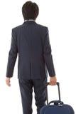 Молодой бизнесмен на командировке Стоковое Изображение