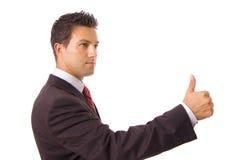 Молодой бизнесмен Стоковая Фотография
