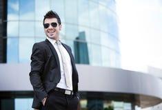 Молодой бизнесмен Стоковое Фото