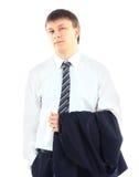 Молодой бизнесмен Стоковое фото RF