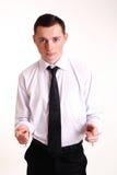 Молодой бизнесмен Стоковая Фотография RF