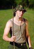 Молодой воин Стоковое Изображение