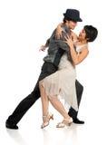 Молодой выполнять танцоров стоковые фотографии rf