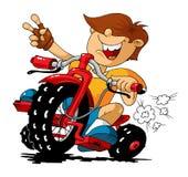 Молодой гонщик Стоковая Фотография RF