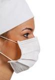 Молодой женский хирург Стоковое фото RF