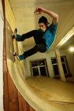Молодой конькобежец Стоковые Фото