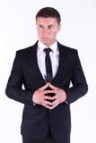 Молодой красивый бизнесмен Стоковые Фото