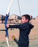 Молодой лучник Стоковое фото RF