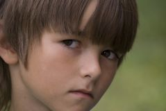 Молодой мальчик стоковые фотографии rf