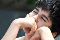 Молодой мыслитель Стоковая Фотография