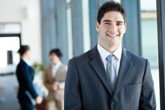 Молодой портрет бизнесмена Стоковая Фотография