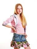 Молодой самомоднейший девочка-подросток Стоковое фото RF