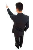 Молодой указывать бизнесмена Стоковые Фотографии RF
