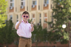Молодой усмехаться подростка Стоковая Фотография RF