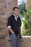 Молодой человек способа сознательный Стоковое фото RF