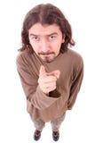 Молодой человек с серьезным взглядом Стоковые Фото