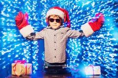 Молодой dj на партии стоковая фотография