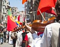молодость мира индюка парада istanbul стоковые изображения