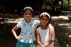 Молодые азиатские подруги Стоковая Фотография RF