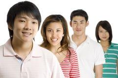 Молодые азиаты Стоковая Фотография