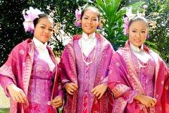 Молодые девушки malay Стоковые Фотографии RF