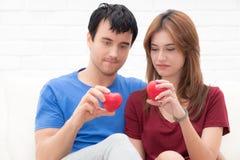 Молодые любовники счастливые в влюбленности Стоковые Фотографии RF