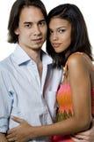 Молодые любовники Стоковое Фото