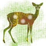 Молодые олени иллюстрация штока