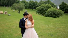 Молодые пары в влюбленности, объятии сток-видео