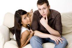 Молодые пары Стоковое Изображение