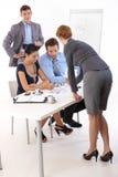 Молодые предприниматели работая совместно Стоковое Изображение