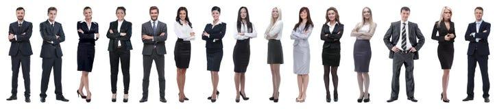 Молодые привлекательные бизнесмены - команда дела элиты стоковые фотографии rf
