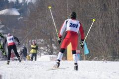 Молодые спортсмены подготавливают для старта региональных конкуренций выбраны для мира Стоковое Изображение