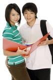 Молодые студенты Стоковая Фотография