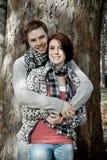 Молодые счастливые пары Стоковые Изображения