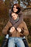 Молодые счастливые пары Стоковая Фотография