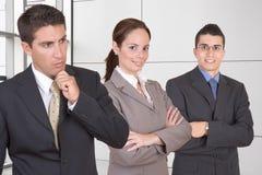 Молодые успешные бизнесмены стоковое изображение