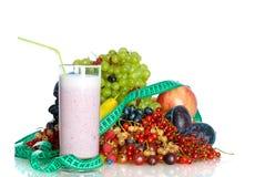 молокозавод коктеила ягод Стоковое Изображение