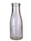 молоко бутылки старое Стоковые Фото