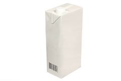 молоко коробки стоковое изображение rf