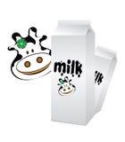 молоко коровы Стоковые Изображения RF
