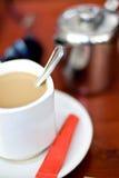 молоко кофе Стоковое Изображение