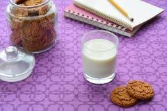 молоко печений Стоковая Фотография