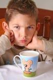молоко питья ваше Стоковая Фотография RF
