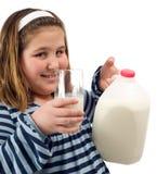 молоко ребенка Стоковое Изображение