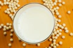 Молоко сои и соя Стоковые Фото