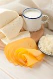 молоко сыра завтрака Стоковые Изображения RF